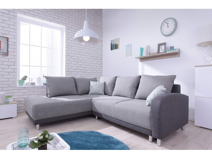 Sofa Large Corner convertible Minty L