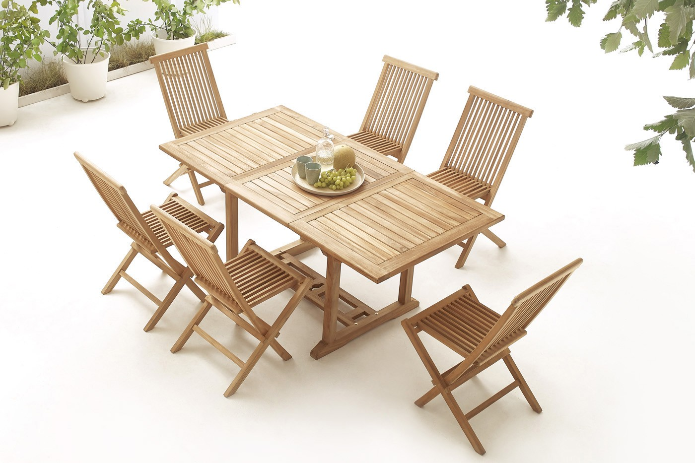 Fabelhaft Tisch Massiv Ideen Von Rechteck 4 Stühle + 2 Sessel Roh