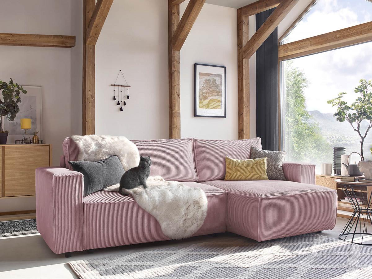 Corner sofa convertible reversible safety deposit box NIHAD