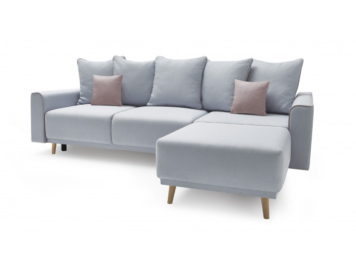 Sofa narożna z miękkim dachem MOLA