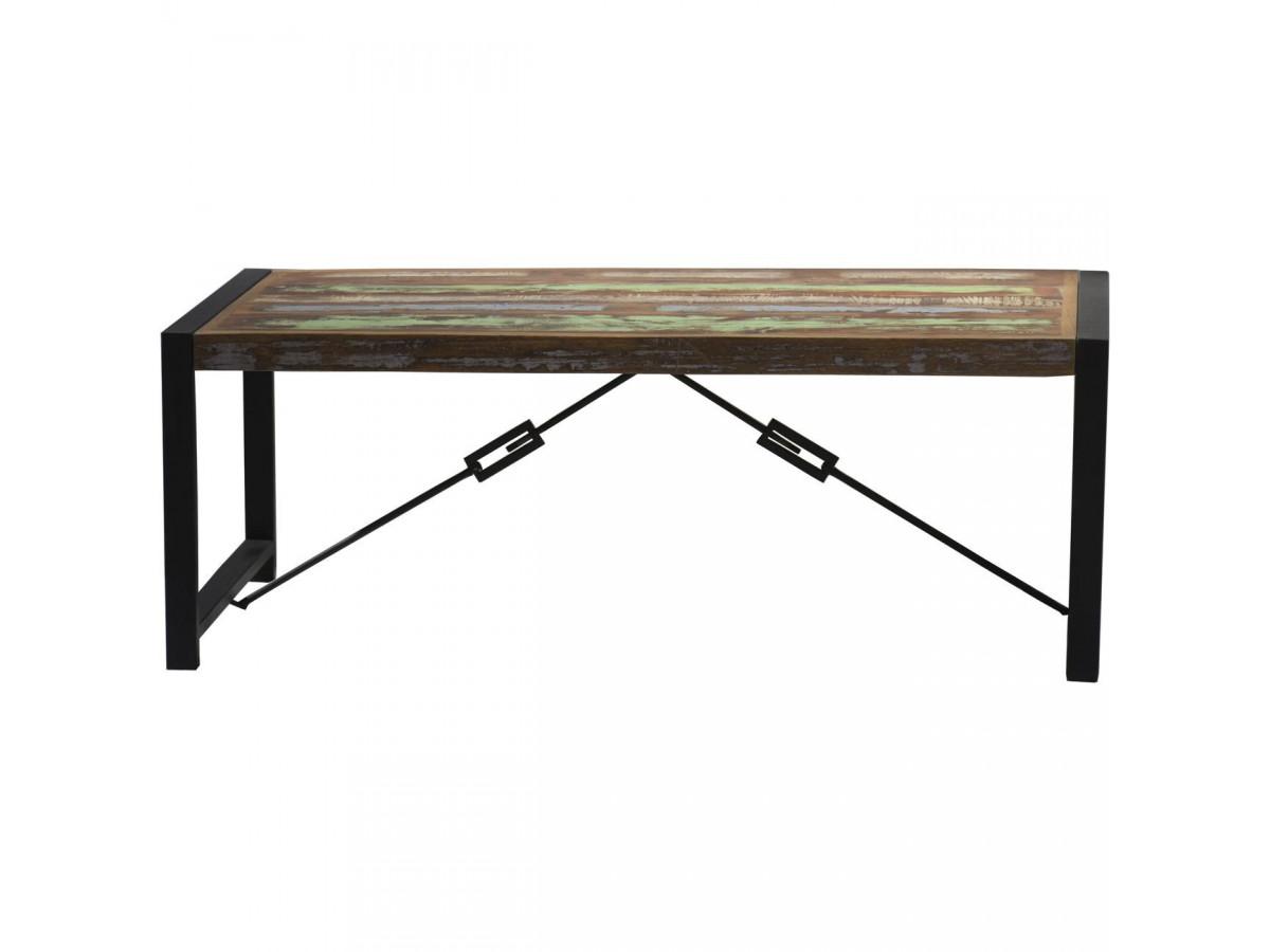 Table basse en bois recyclé MUMBAI
