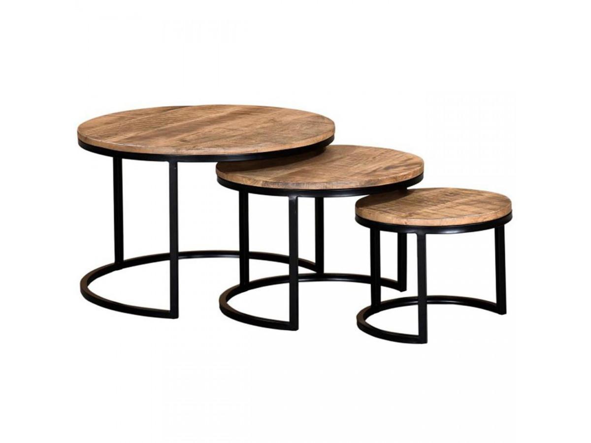 Set de 3 tables BANGALO
