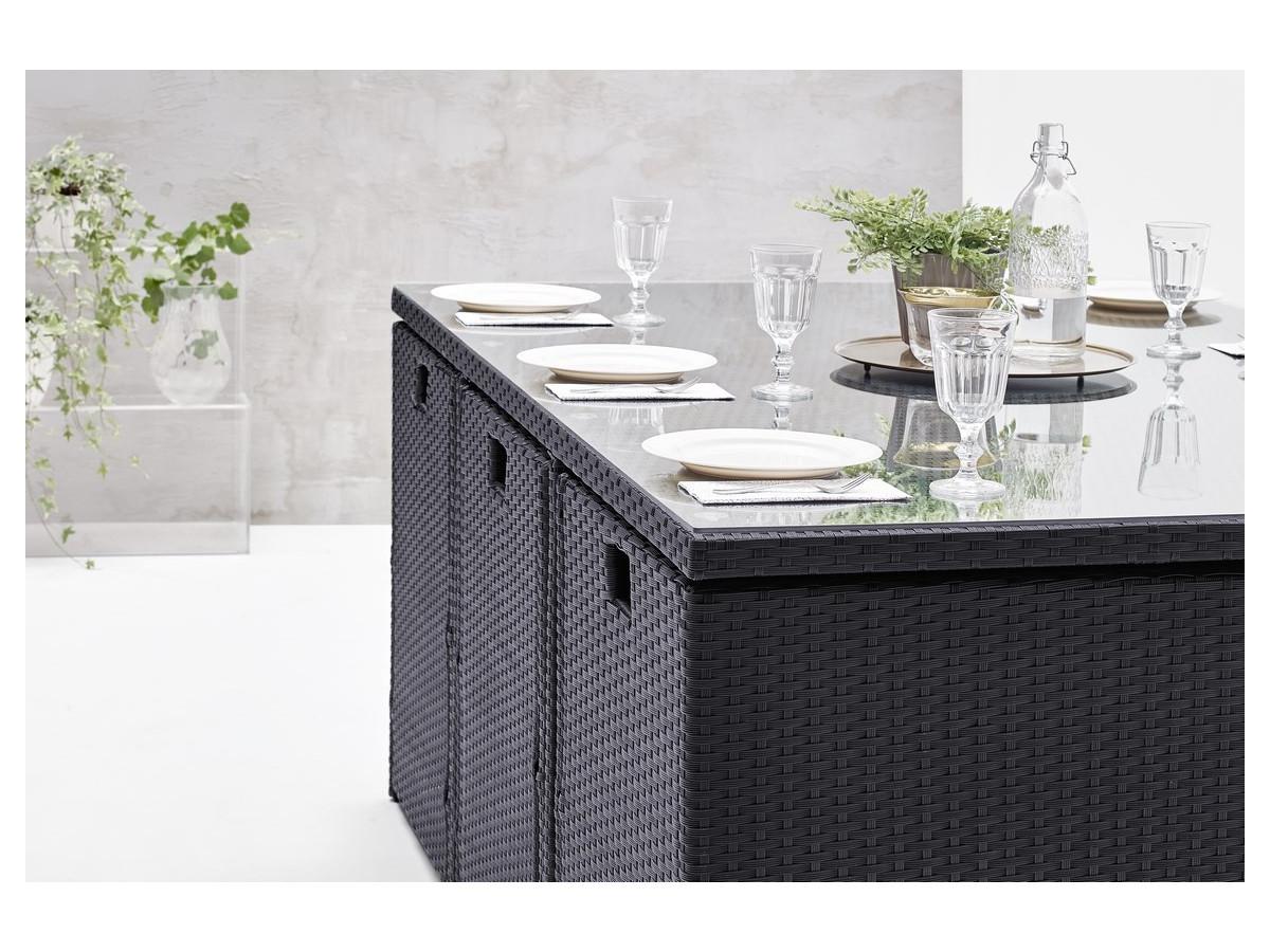 salon de jardin family 10 places bobochic. Black Bedroom Furniture Sets. Home Design Ideas