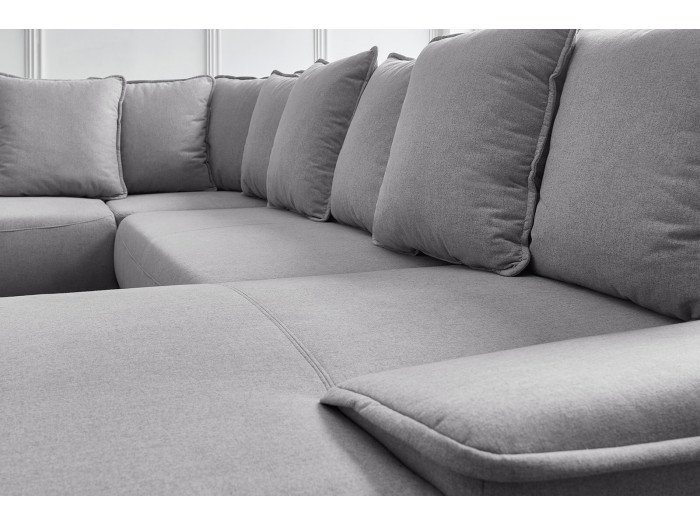 Canapé panoramique XXL convertible GAIA