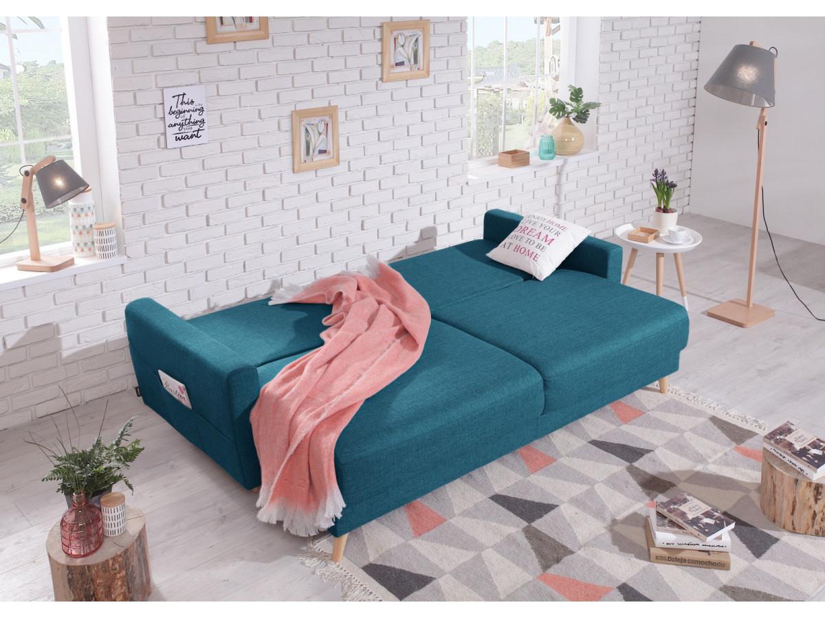 canap droit scandi convertible bobochic paris. Black Bedroom Furniture Sets. Home Design Ideas