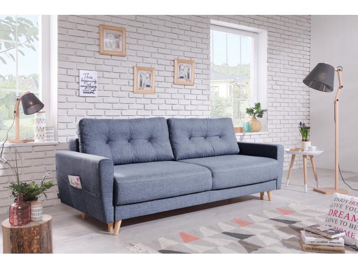 Sofa prawo SCANDI z miękkim dachem