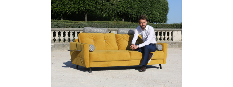 Tétiére for sofa scandi (unit)