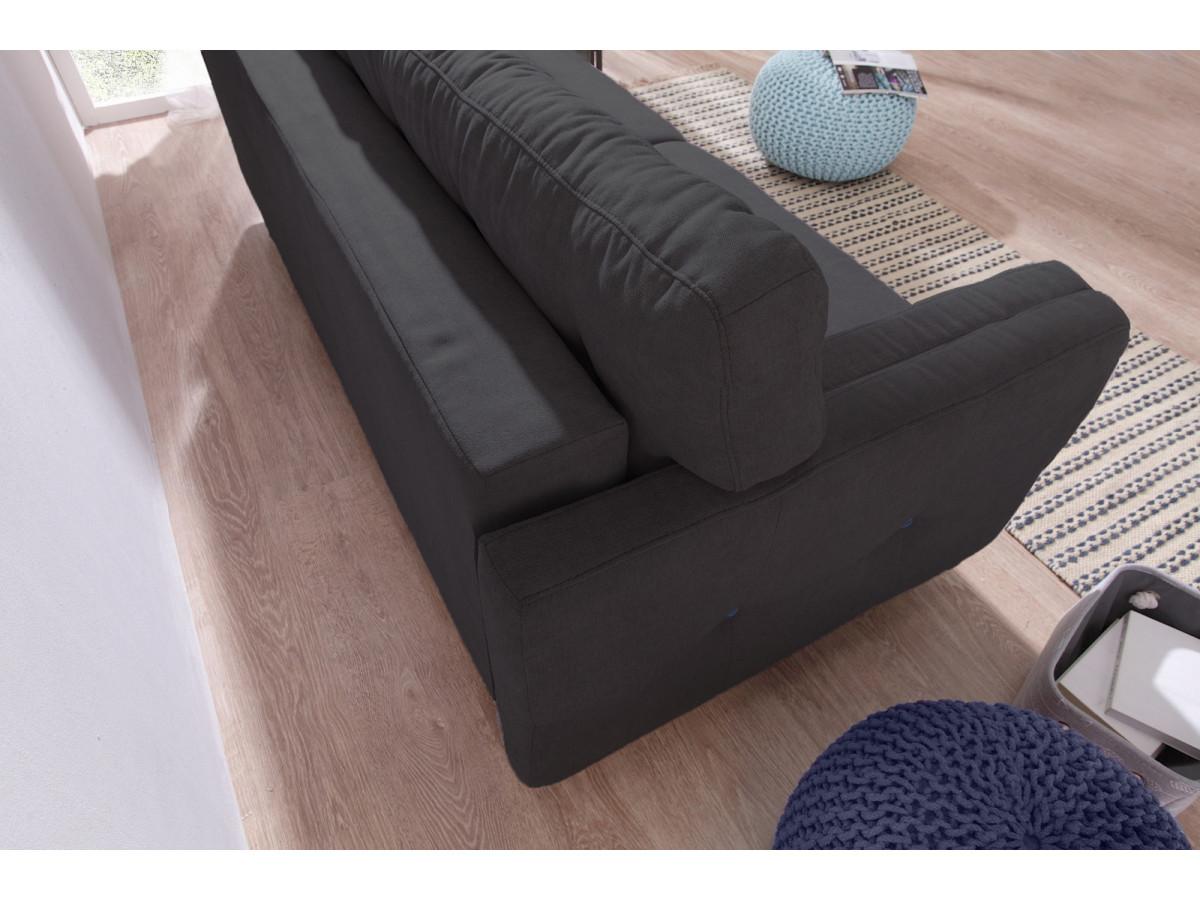 canap droit convertible coffre copenhagen bobochic. Black Bedroom Furniture Sets. Home Design Ideas