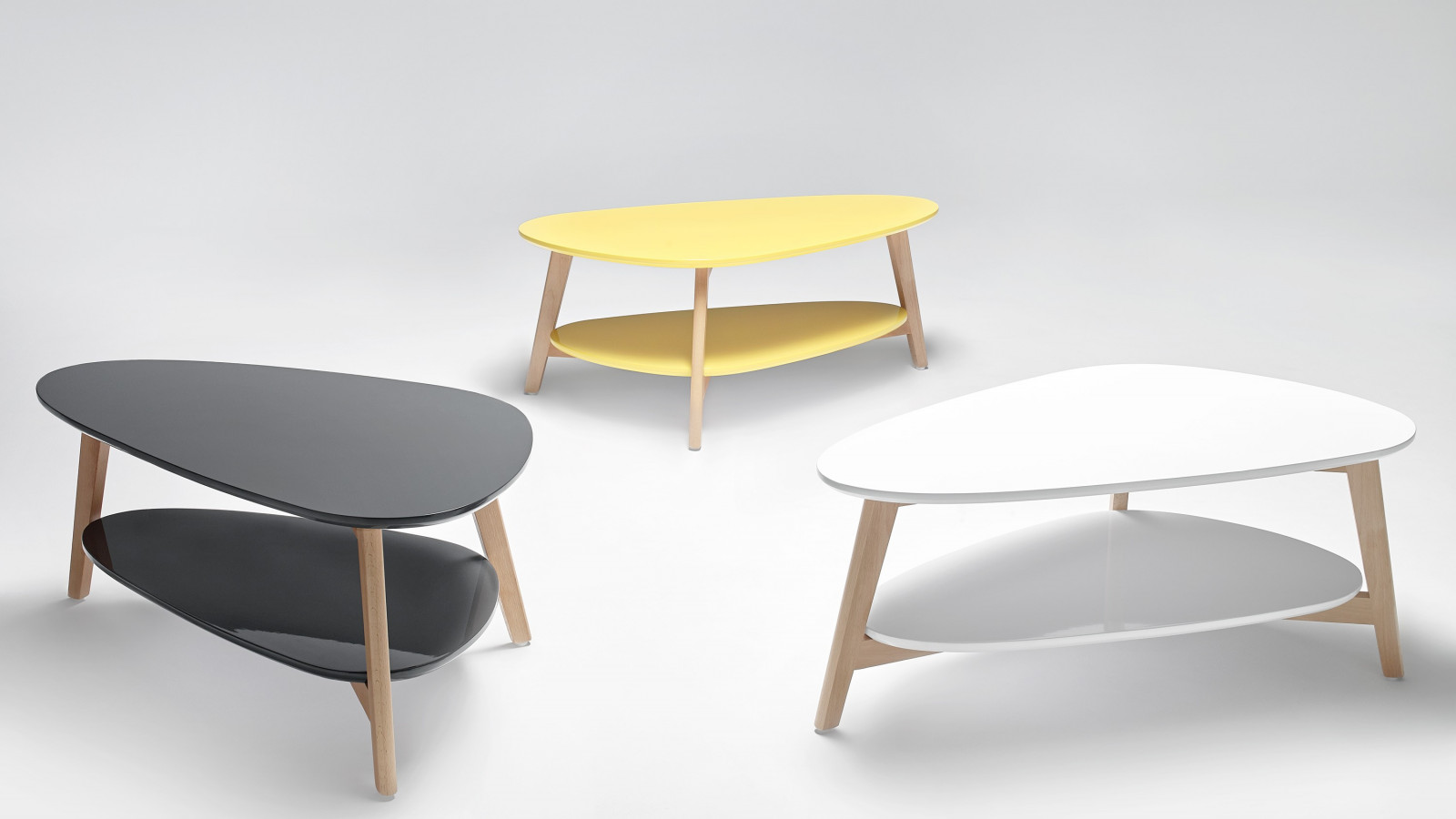 Coffee Tables Stacking Scandinavian BOBOCHIC PARIS