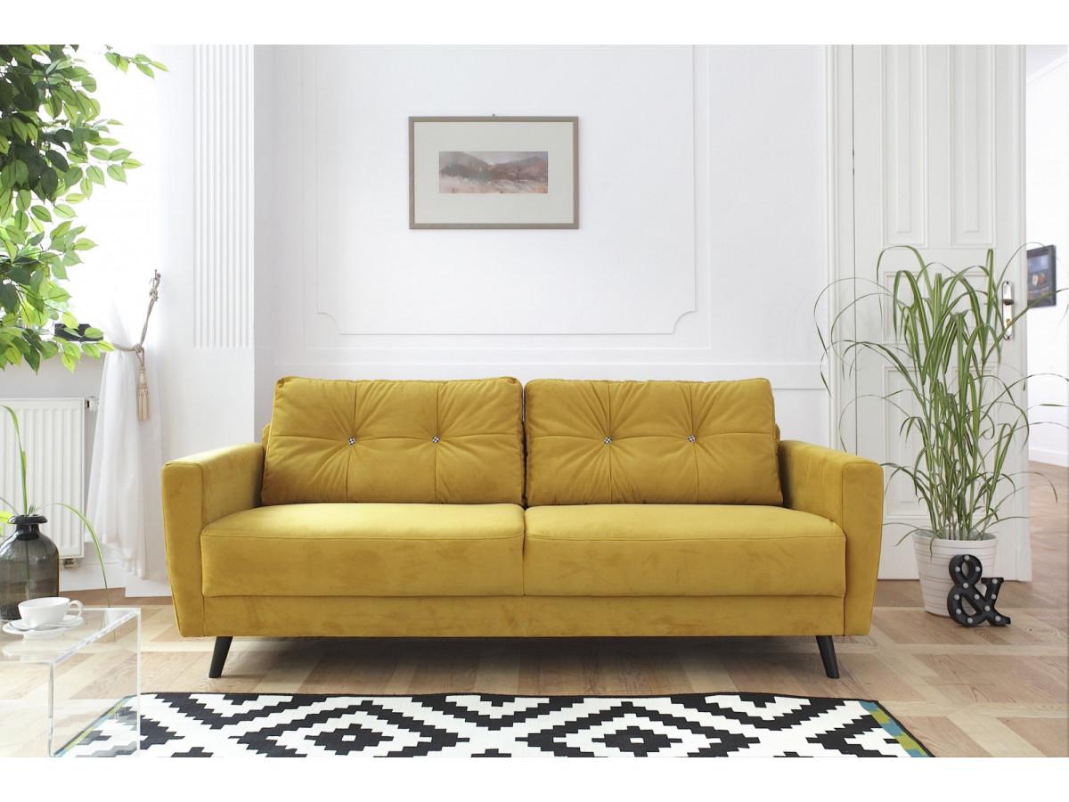 canap droit scandi fixe dition limit e bobochic paris. Black Bedroom Furniture Sets. Home Design Ideas
