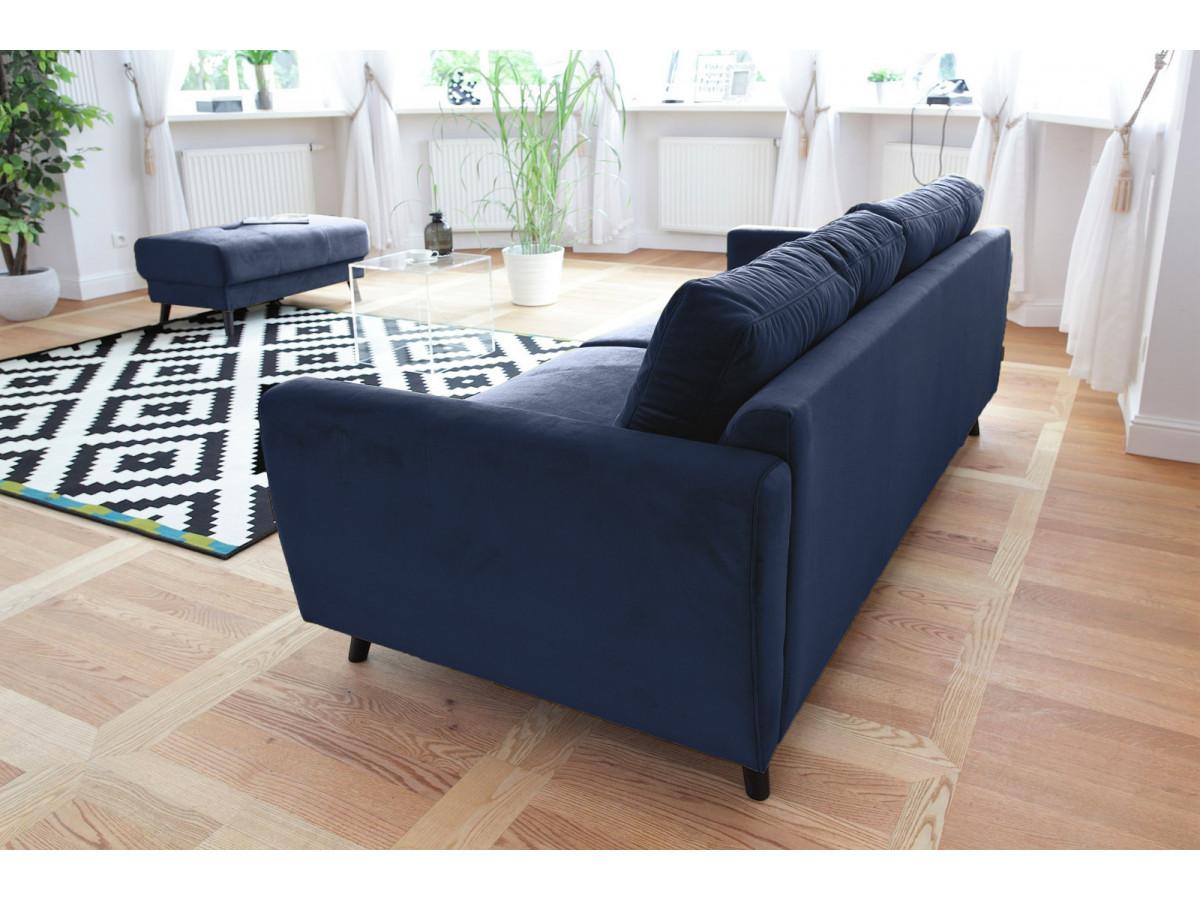 canap droit scandi fixe dition limit e avec pouf bobochic paris. Black Bedroom Furniture Sets. Home Design Ideas