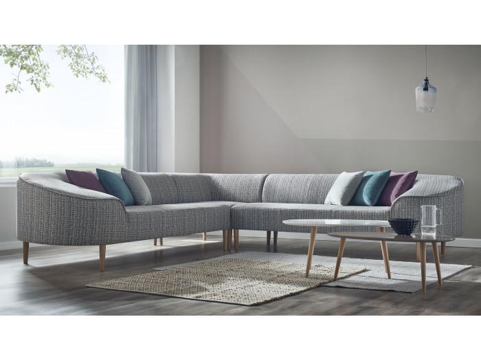 corner sofa reversible convertible lisa bobochic paris. Black Bedroom Furniture Sets. Home Design Ideas