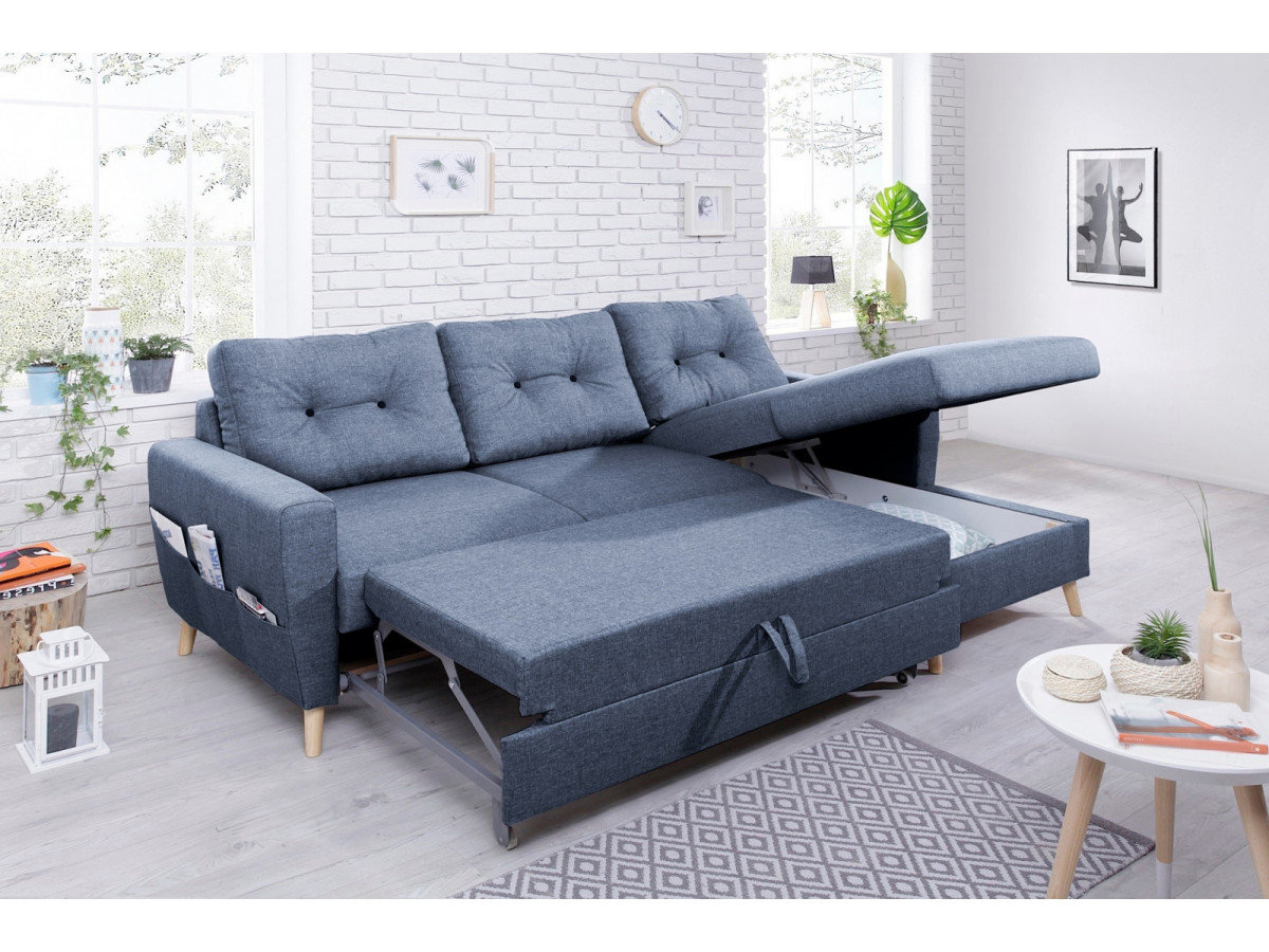 canap convertible coffre bobochic paris. Black Bedroom Furniture Sets. Home Design Ideas