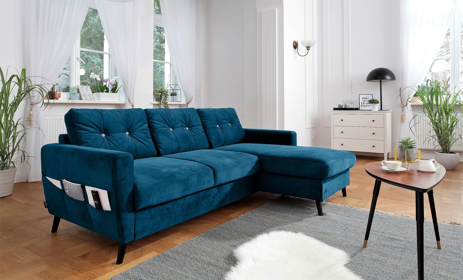 Elegant Canapé D Angle Design Convertible