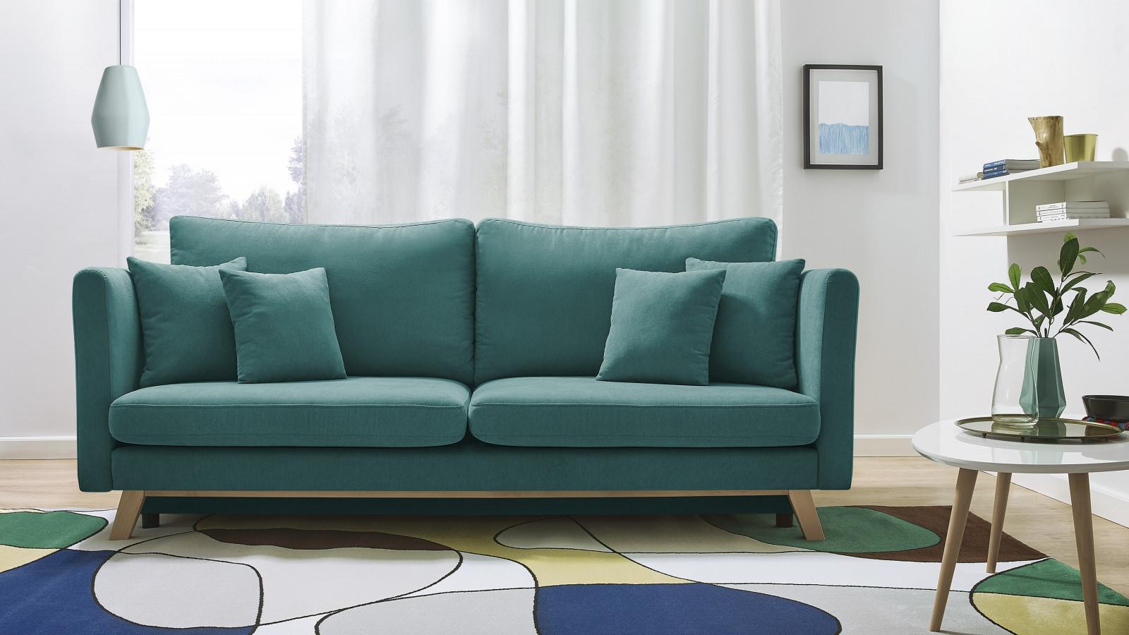 Sofa triplo convertible