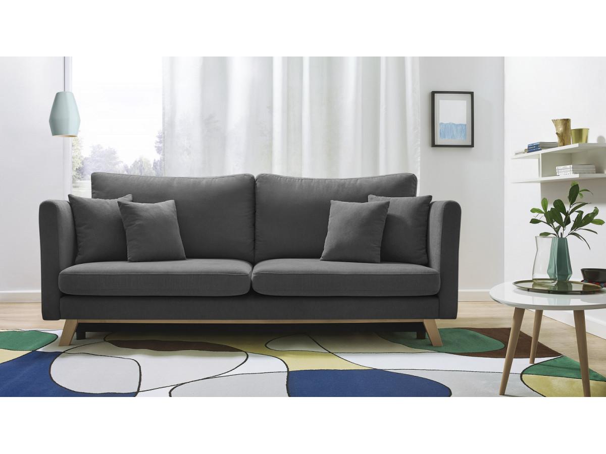 canap convertible coffre triplo bobochic. Black Bedroom Furniture Sets. Home Design Ideas