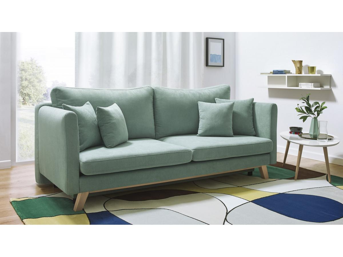 canap droit convertible triplo bobochic. Black Bedroom Furniture Sets. Home Design Ideas