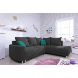 Corner sofa convertible umbria L