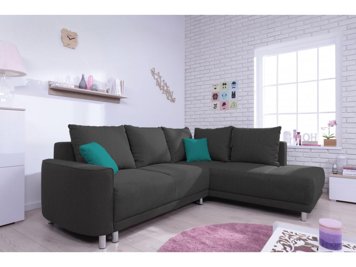 canap d 39 angle convertible l umbria bobochic. Black Bedroom Furniture Sets. Home Design Ideas