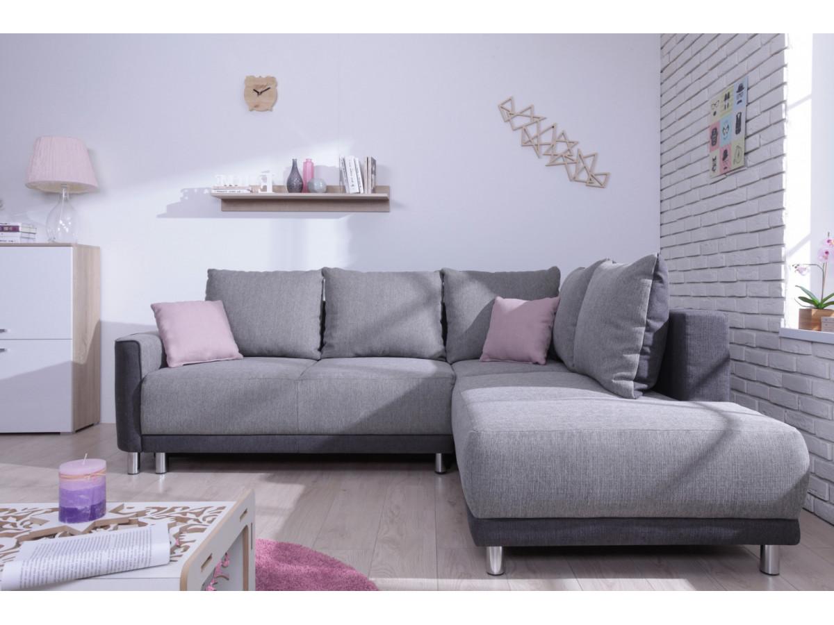 Sofa en esquina asger compact chaise end sofa chalk grey with sofa en esquina fabulous sof - Sofa cama esquina ...