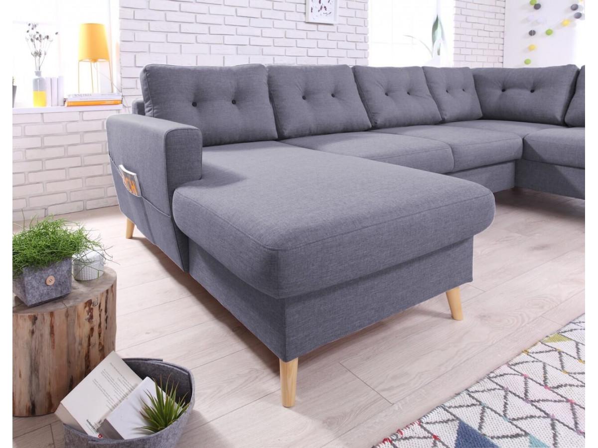 canap panoramique convertible xxl scandi bobochic. Black Bedroom Furniture Sets. Home Design Ideas