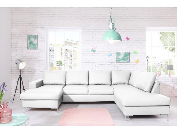 Sofa Lilly Sztucznej Panoramiczny Stałe