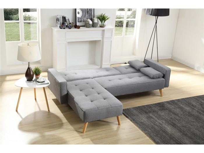 Canapé d'angle Réversible Convertible LISEA