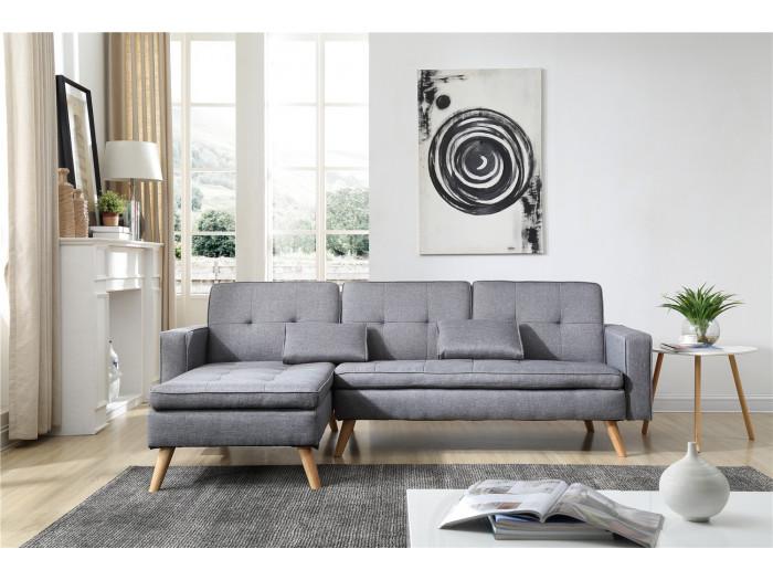 Canapé d'angle Réversible Convertible NORA