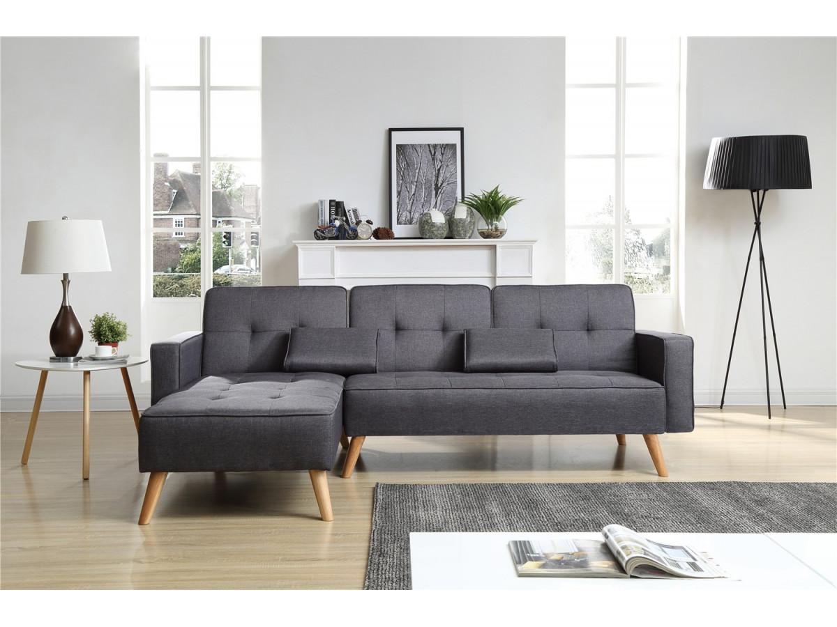 canap d 39 angle r versible convertible lisea bobochic. Black Bedroom Furniture Sets. Home Design Ideas