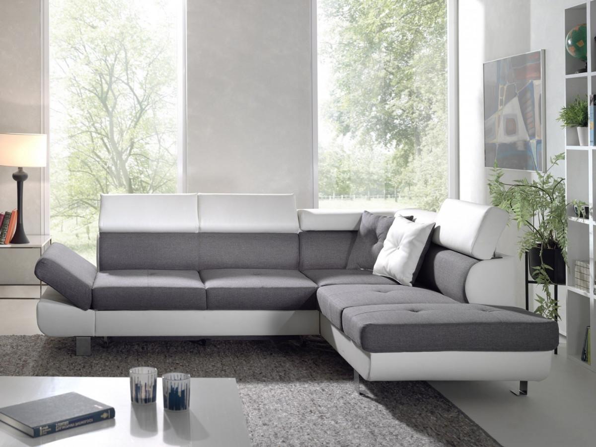 canap d 39 angle convertible linea bi couleur bobochic paris. Black Bedroom Furniture Sets. Home Design Ideas