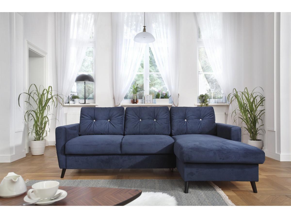 canap d 39 angle convertible coffre edition limit e bobochic paris. Black Bedroom Furniture Sets. Home Design Ideas