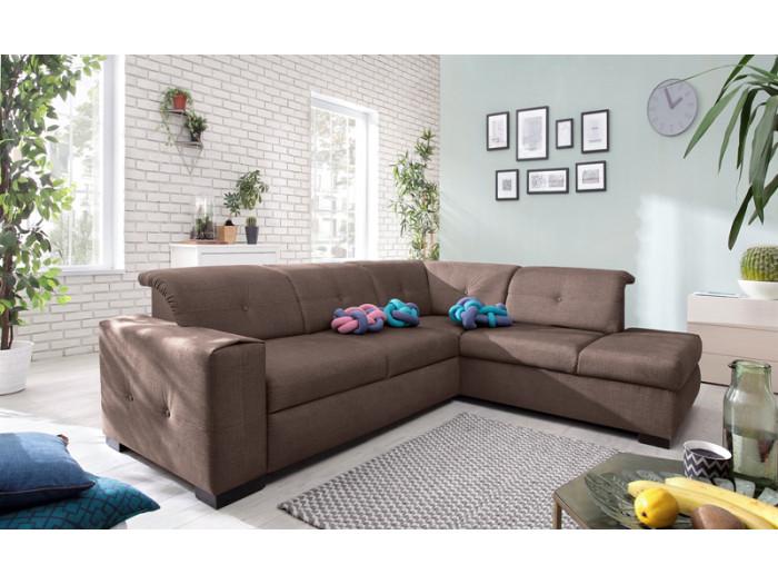 canap grand angle geneva convertible bobochic. Black Bedroom Furniture Sets. Home Design Ideas