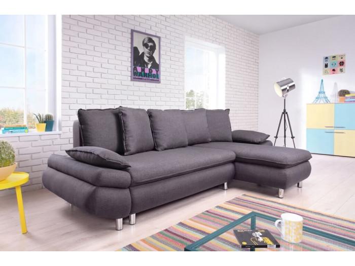 Corner sofa convertible reversible NESTOR