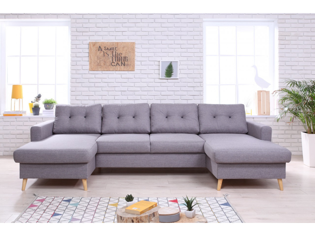 Double sofa meri nne SCANDI fixed BOBOCHIC