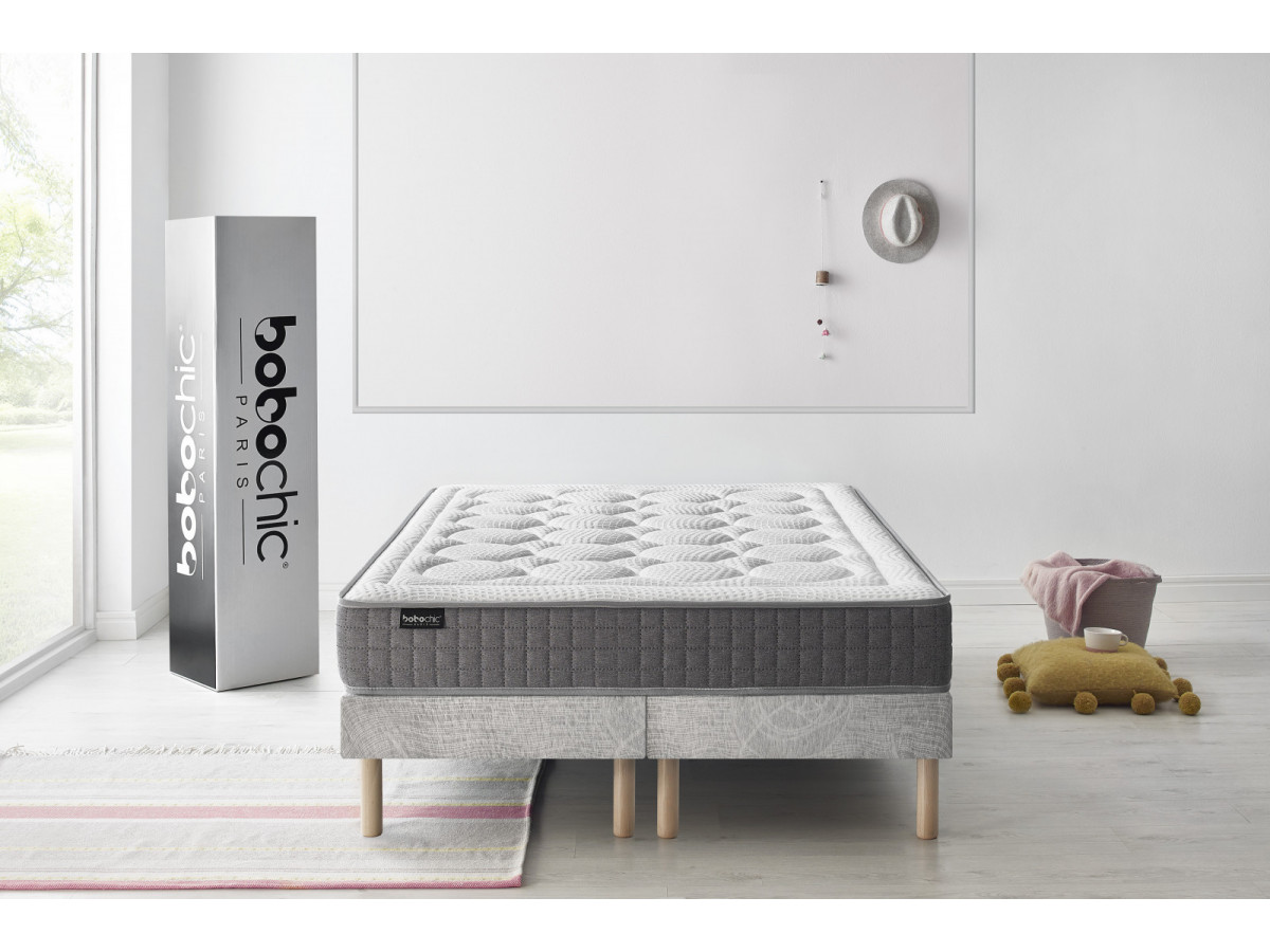 ensemble matelas sommier passion bobochic. Black Bedroom Furniture Sets. Home Design Ideas