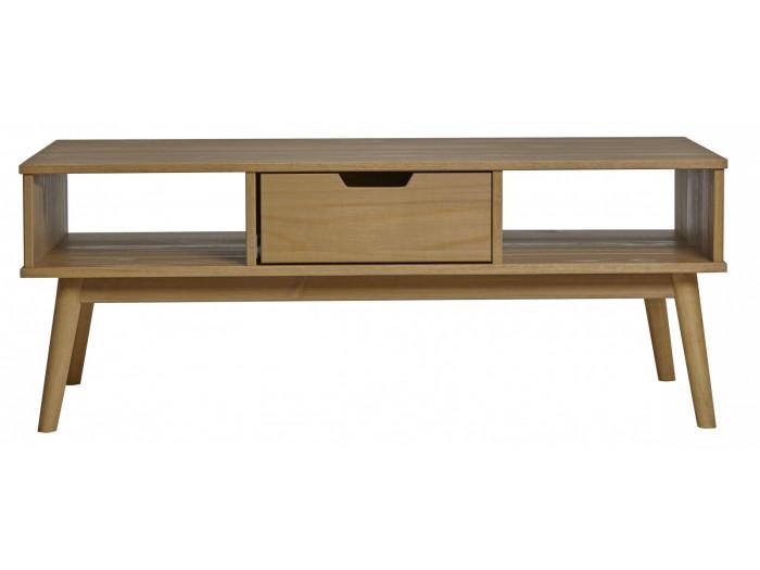 Coffee Table ANAEL polished Wood