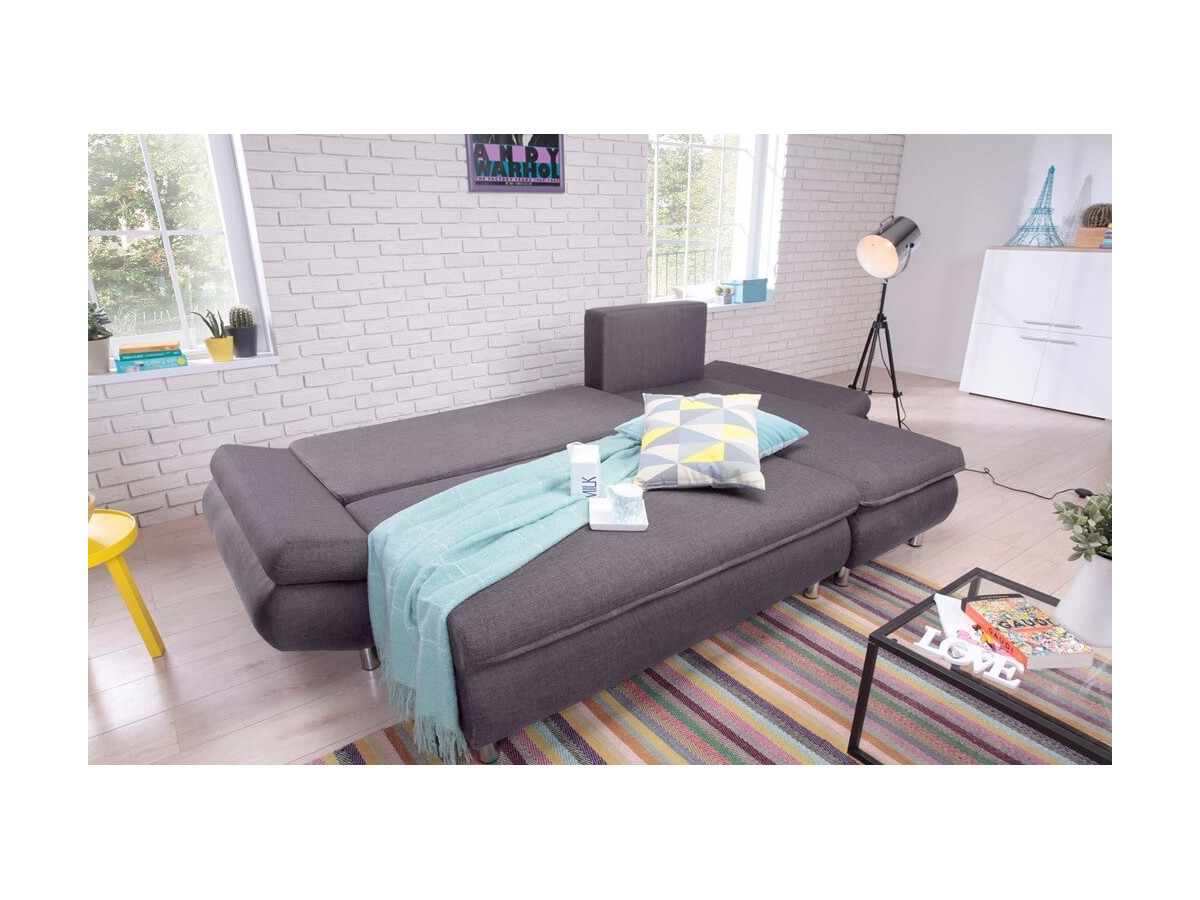 canap d 39 angle convertible r versible nestor. Black Bedroom Furniture Sets. Home Design Ideas