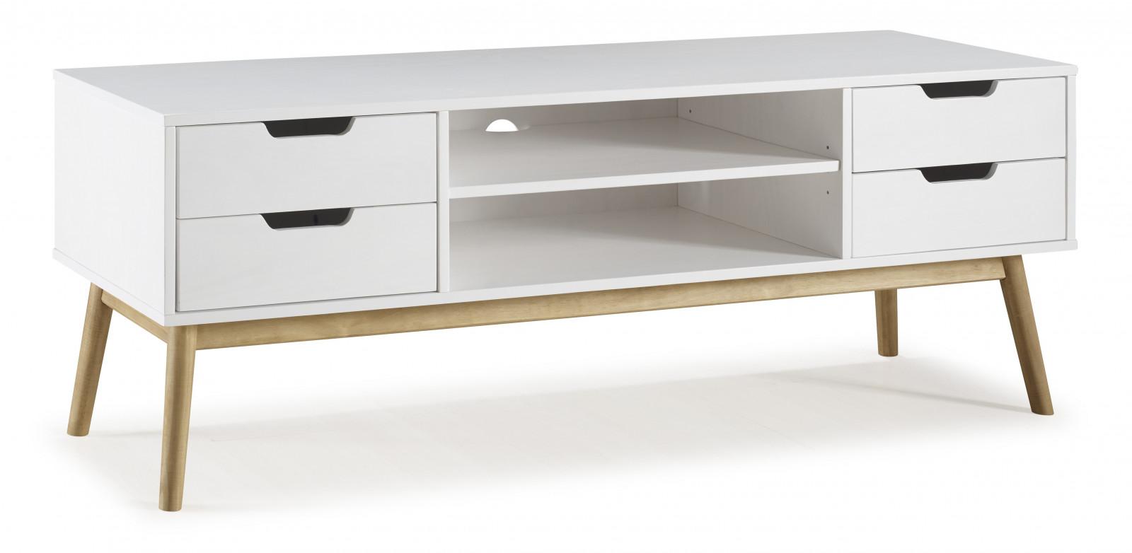 meuble tv maela bois massif bobochic. Black Bedroom Furniture Sets. Home Design Ideas