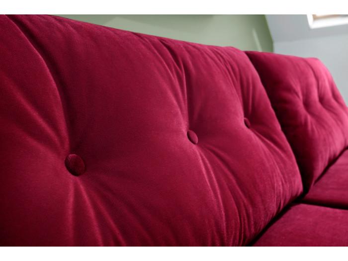 Sofa Scandi 3 seater velvet convertible