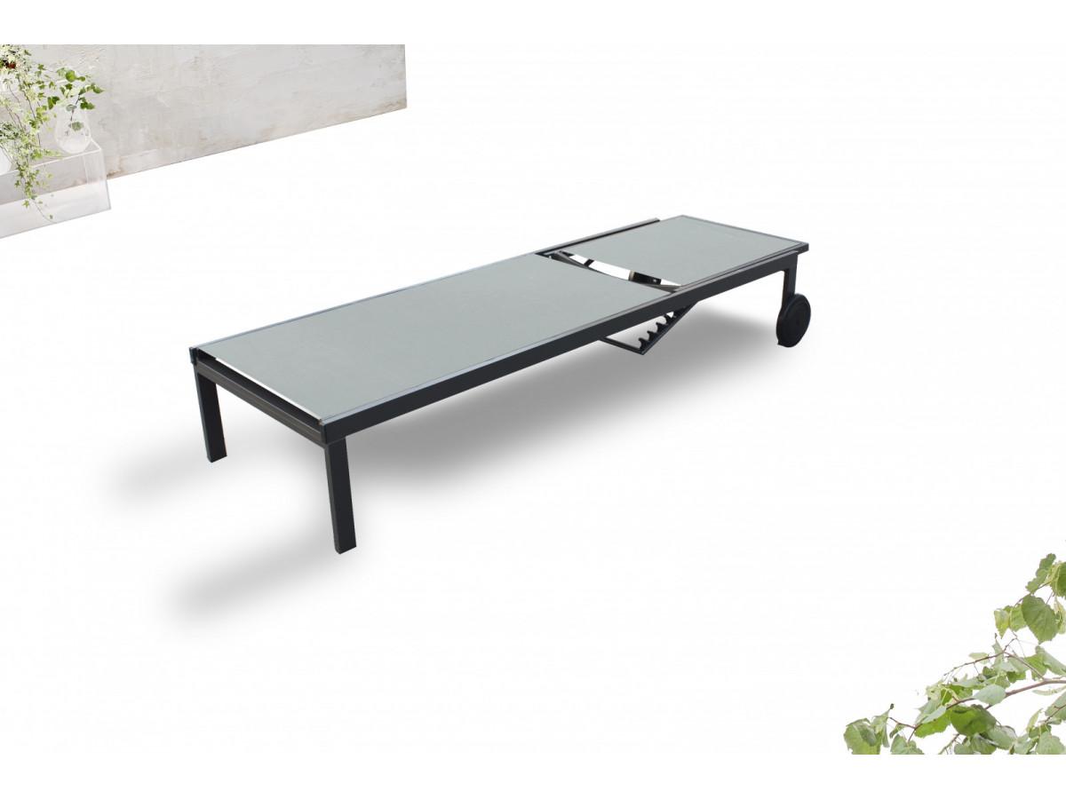 transat bain de soleil teck havana. Black Bedroom Furniture Sets. Home Design Ideas
