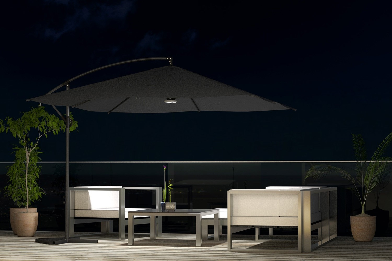Parasol MALTE LED