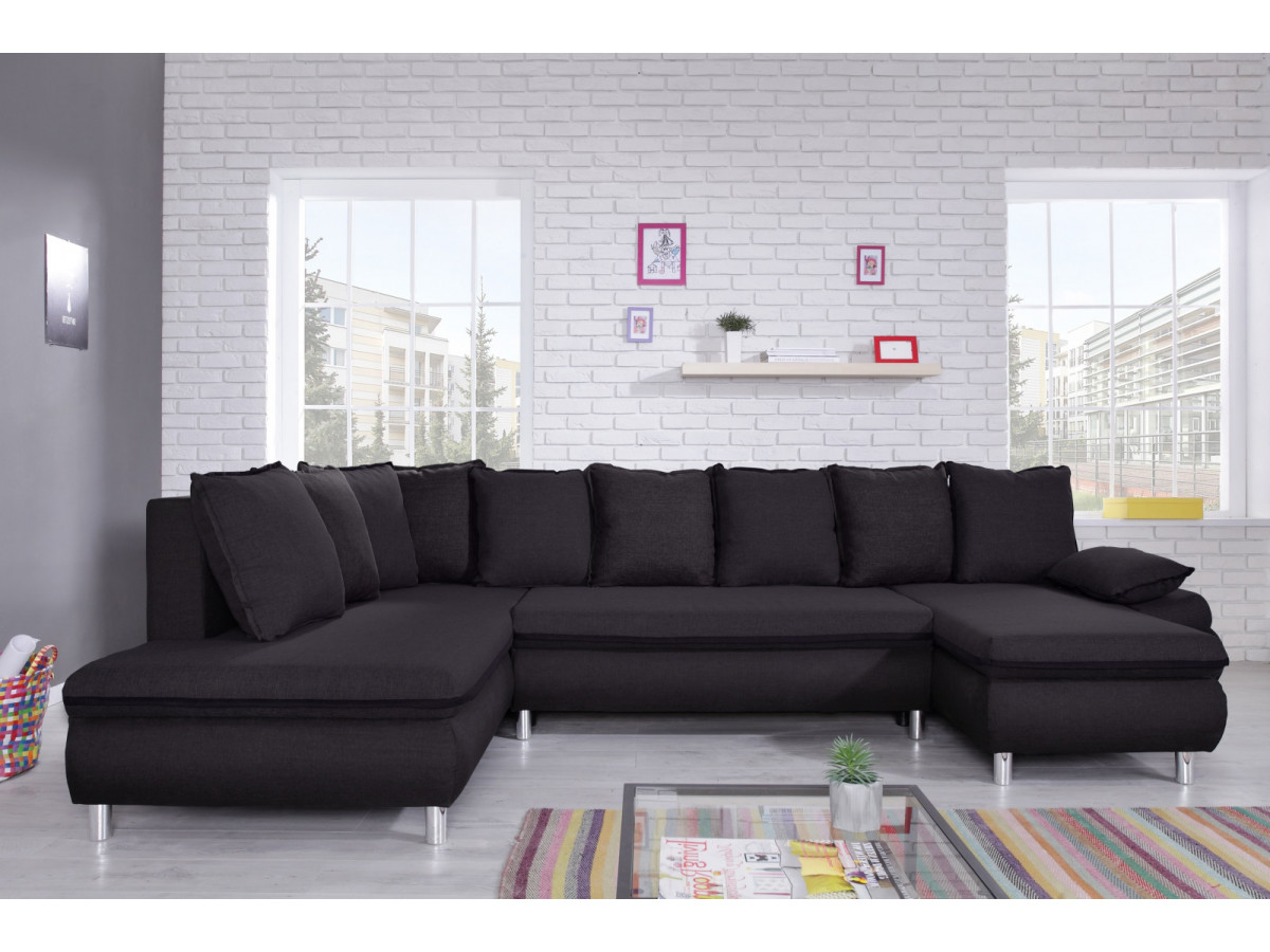 canap panoramique convertible r versible xxl bobochic paris. Black Bedroom Furniture Sets. Home Design Ideas