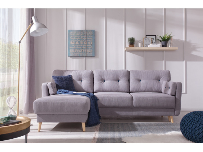 Narożna sofa Copenhagen z miękkim dachem mini