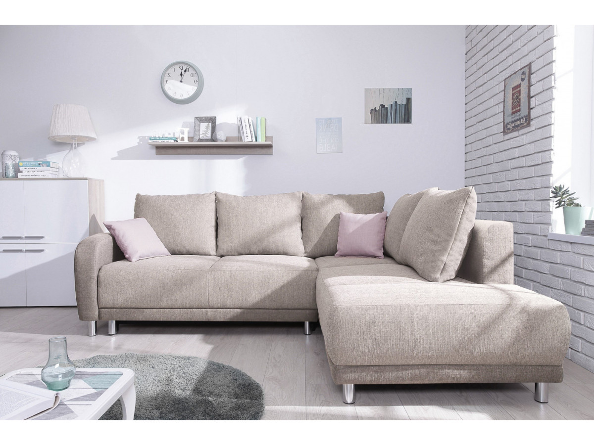 canap grand angle convertible l minty bobochic. Black Bedroom Furniture Sets. Home Design Ideas