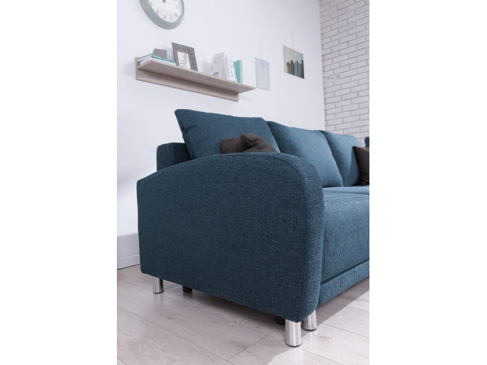 Convertible big corner sofa L Minty