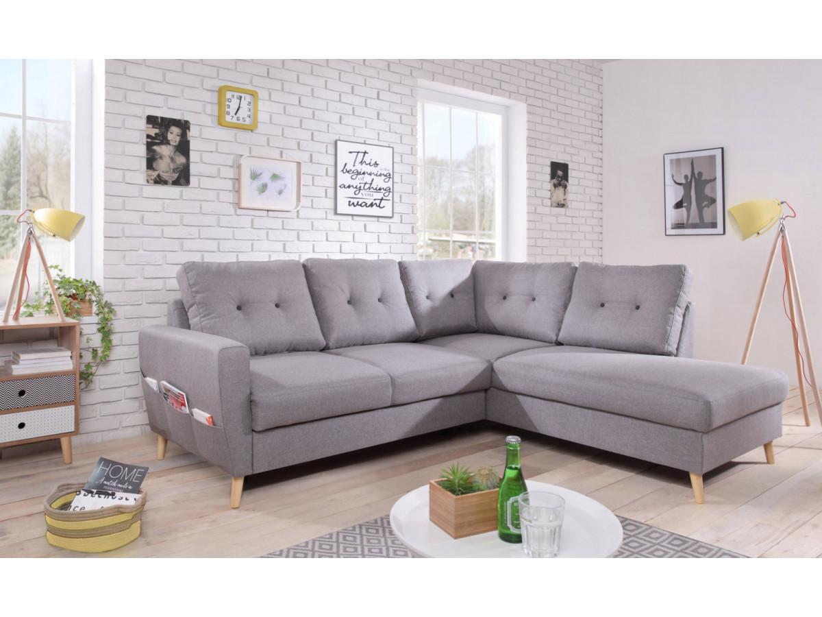 canap d 39 angle convertible l scandi bobochic. Black Bedroom Furniture Sets. Home Design Ideas