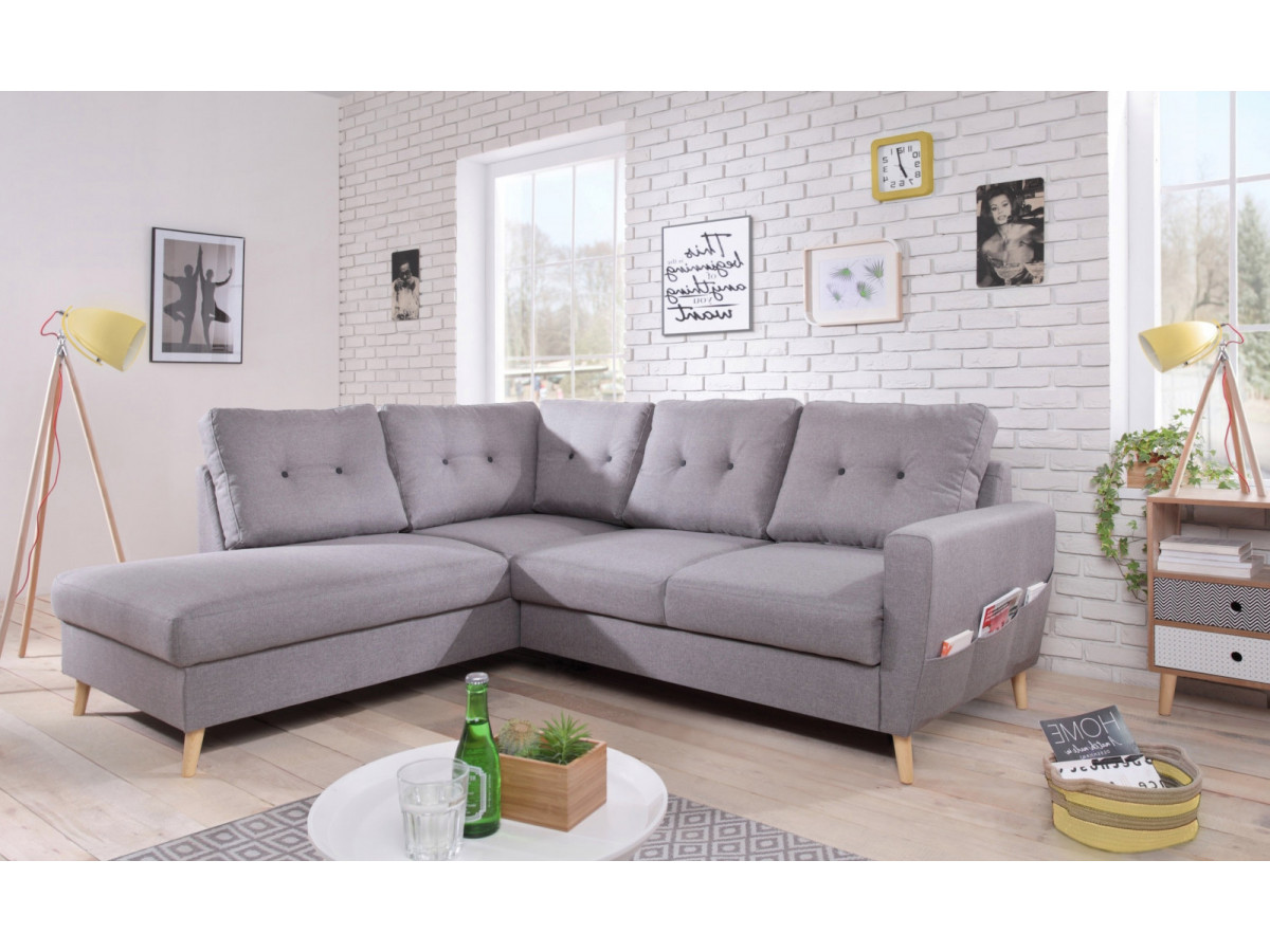 canap d 39 angle convertible scandi l bobochic paris. Black Bedroom Furniture Sets. Home Design Ideas