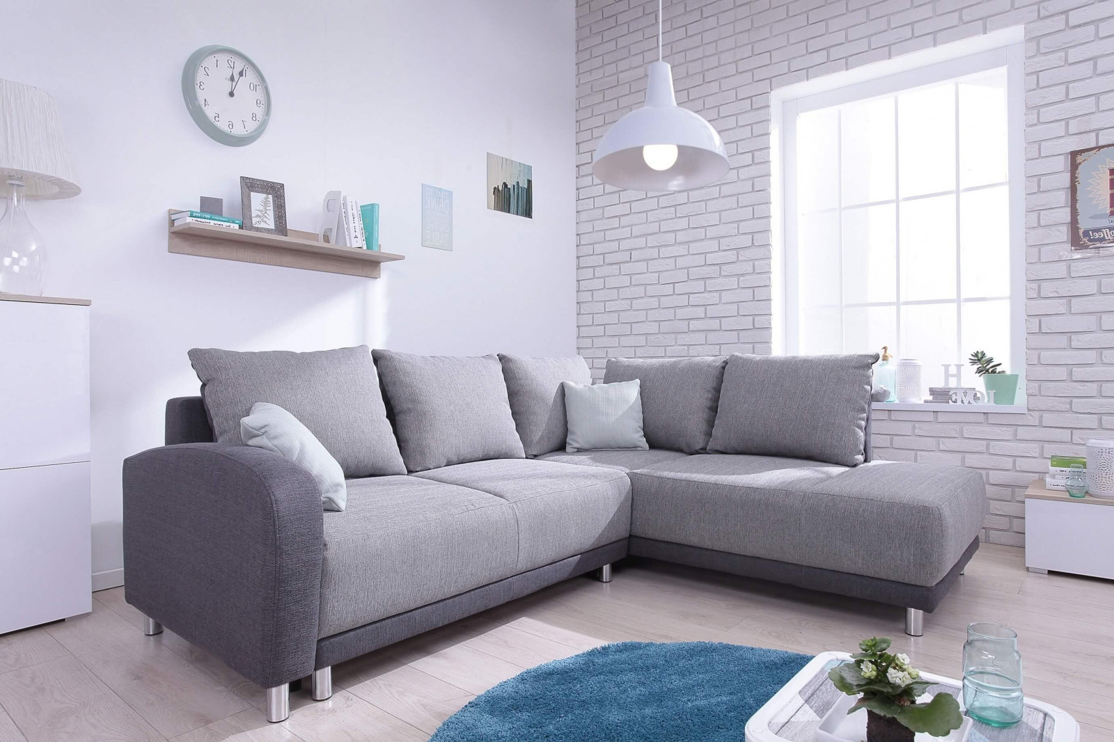 Corner sofa convertible Minty L BOBOCHIC PARIS