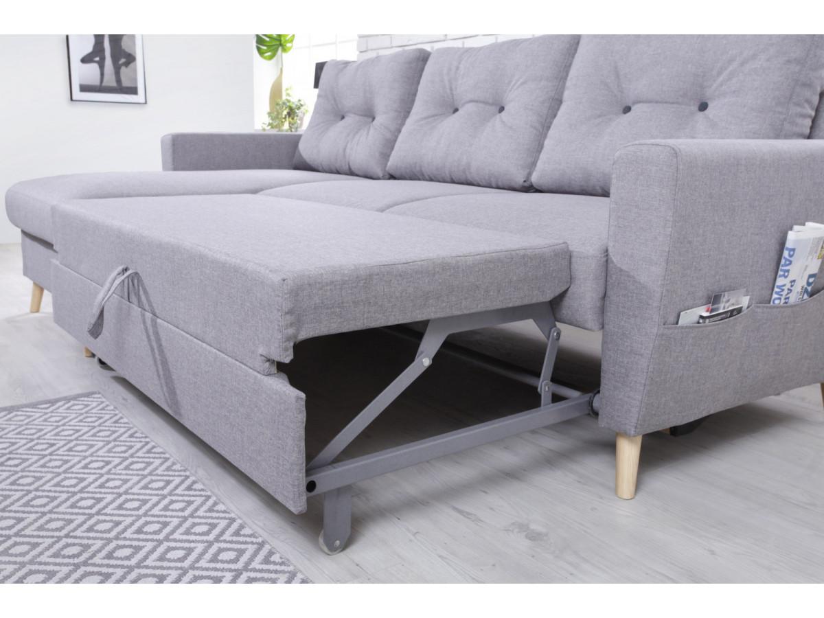 canap d 39 angle convertible scandi bobochic paris. Black Bedroom Furniture Sets. Home Design Ideas
