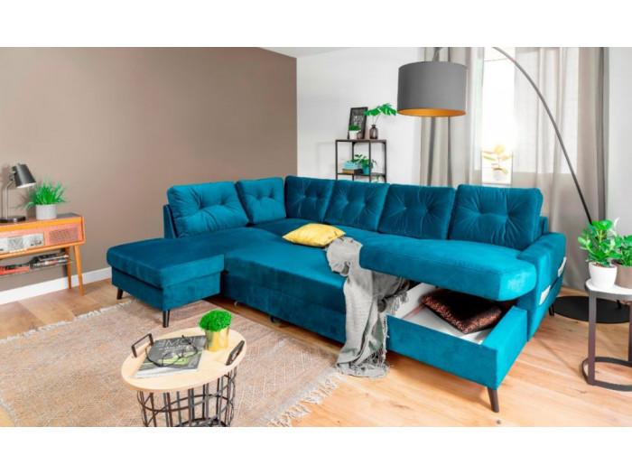 Sofa panorama-Bettsofa mit dem auf